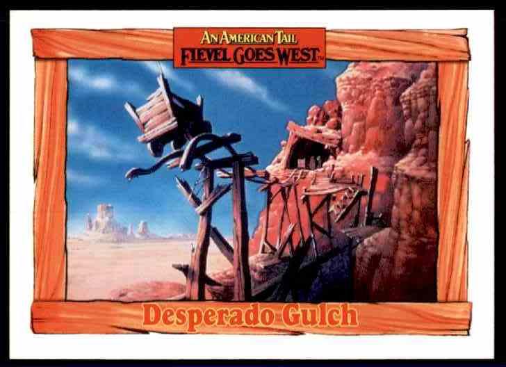 1991 An American Tail Desperado Gulch #85 card front image