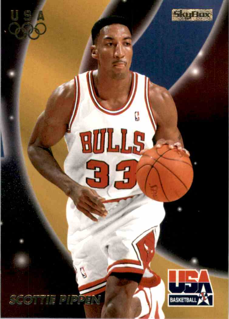 1996-97 SkyBox USA Scottie Pippen #15 card front image