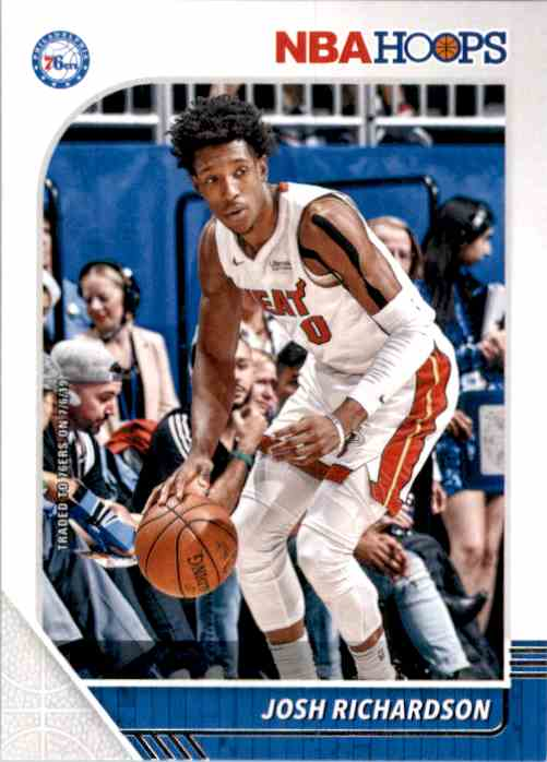 2019-20 Hoops Josh Richardson #98 card front image