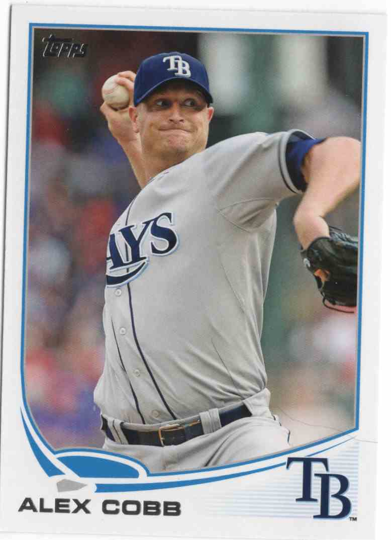 2013 Topps Alex Cobb #53 card front image