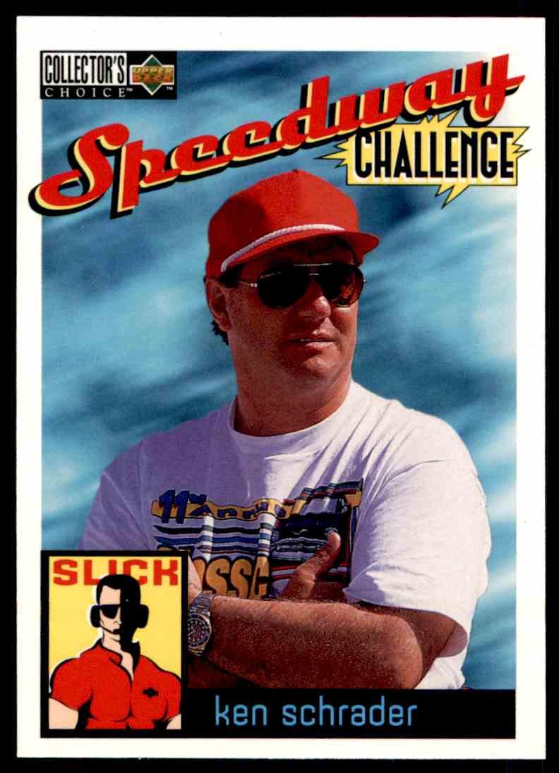 1996 Upper Deck Ken Schrader #112 card front image