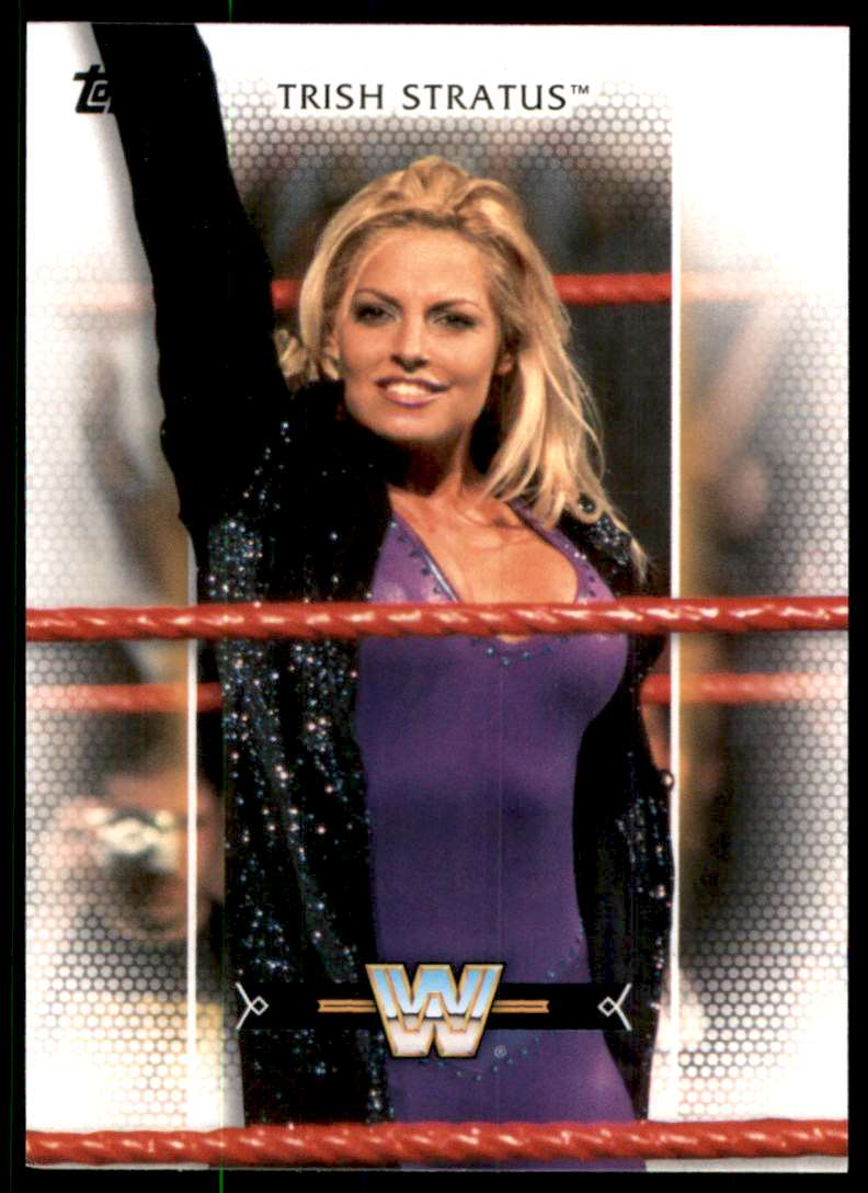 2017-18 Topps Wwe Women's Division Trish Stratus #R42 card front image