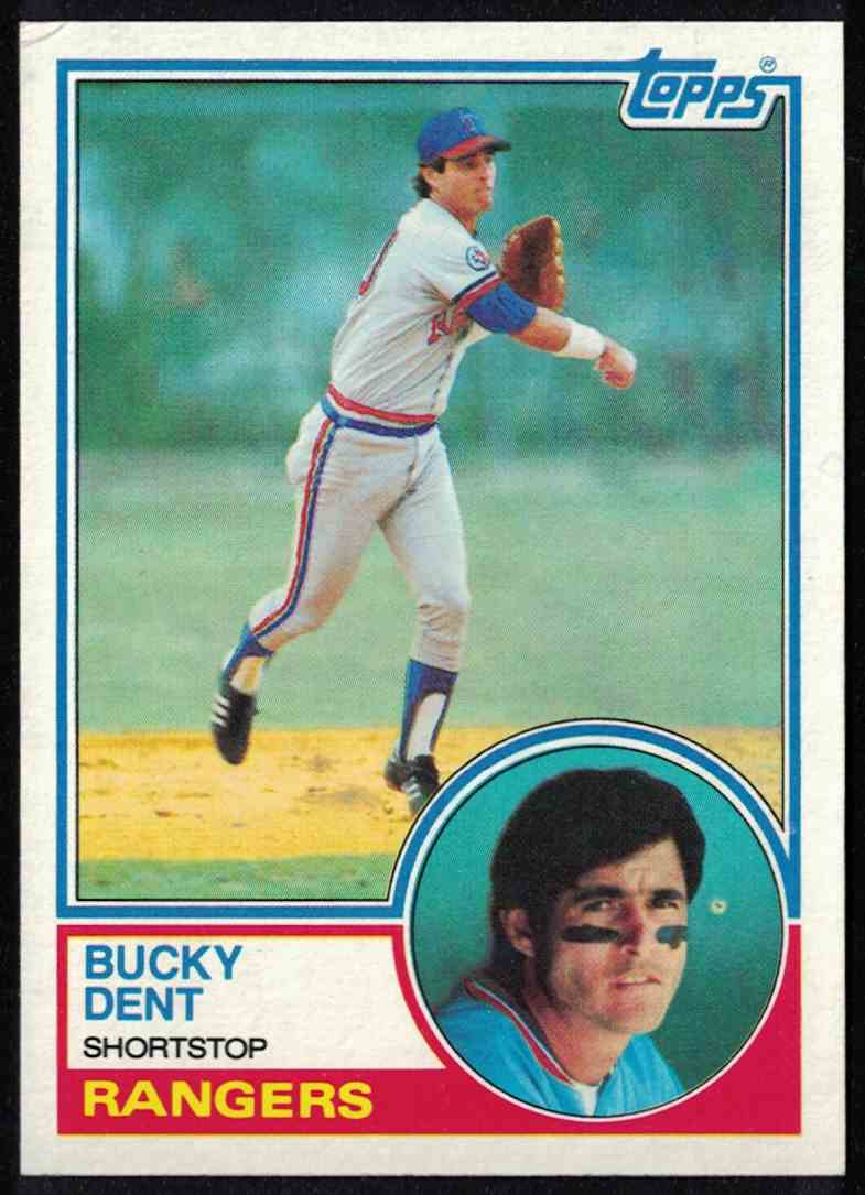 1983 Topps Bucky Dent EX-MT #565 card front image