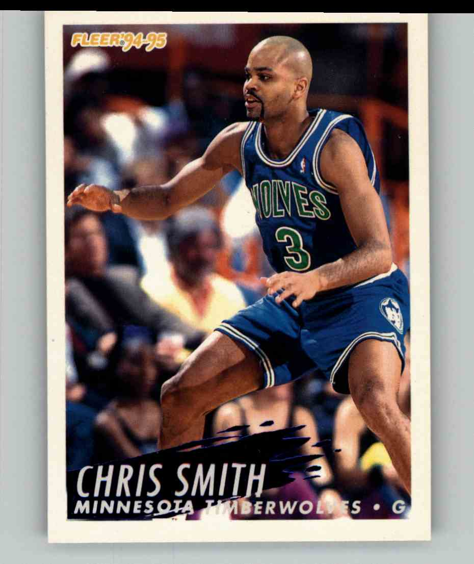 1994-95 Fleer Chris Smith #136 card front image