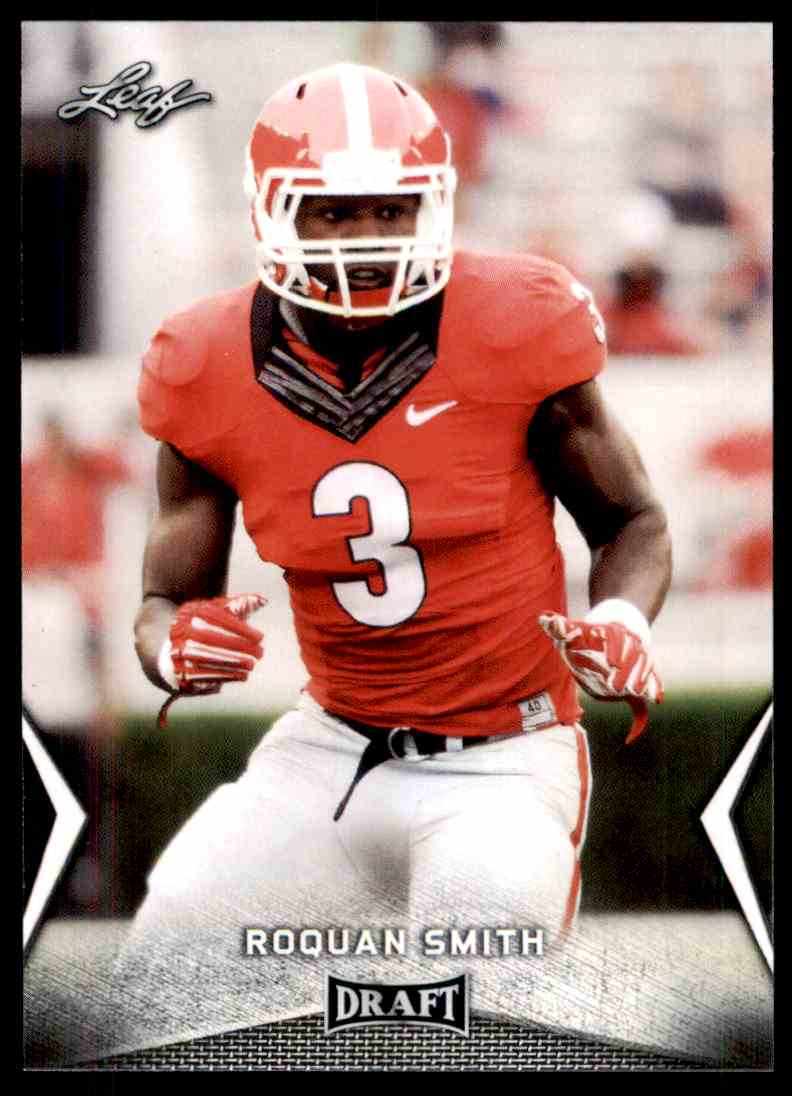 2018 Leaf Draft Roquan Smith #52 card front image