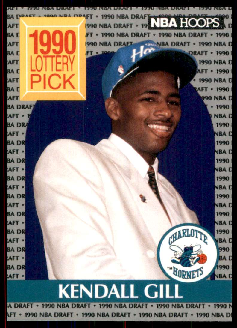 1990-91 Hoops Kendall Gill #394 card front image