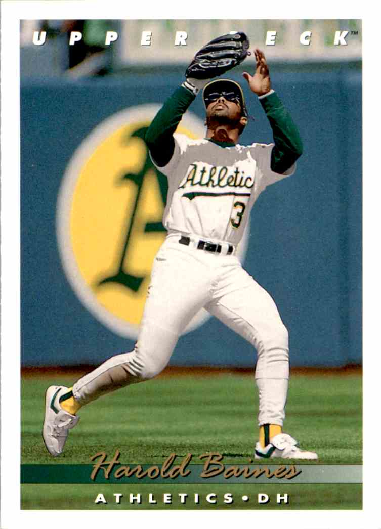 1993 Upper Deck Series 2 Harold Baines #81 card front image