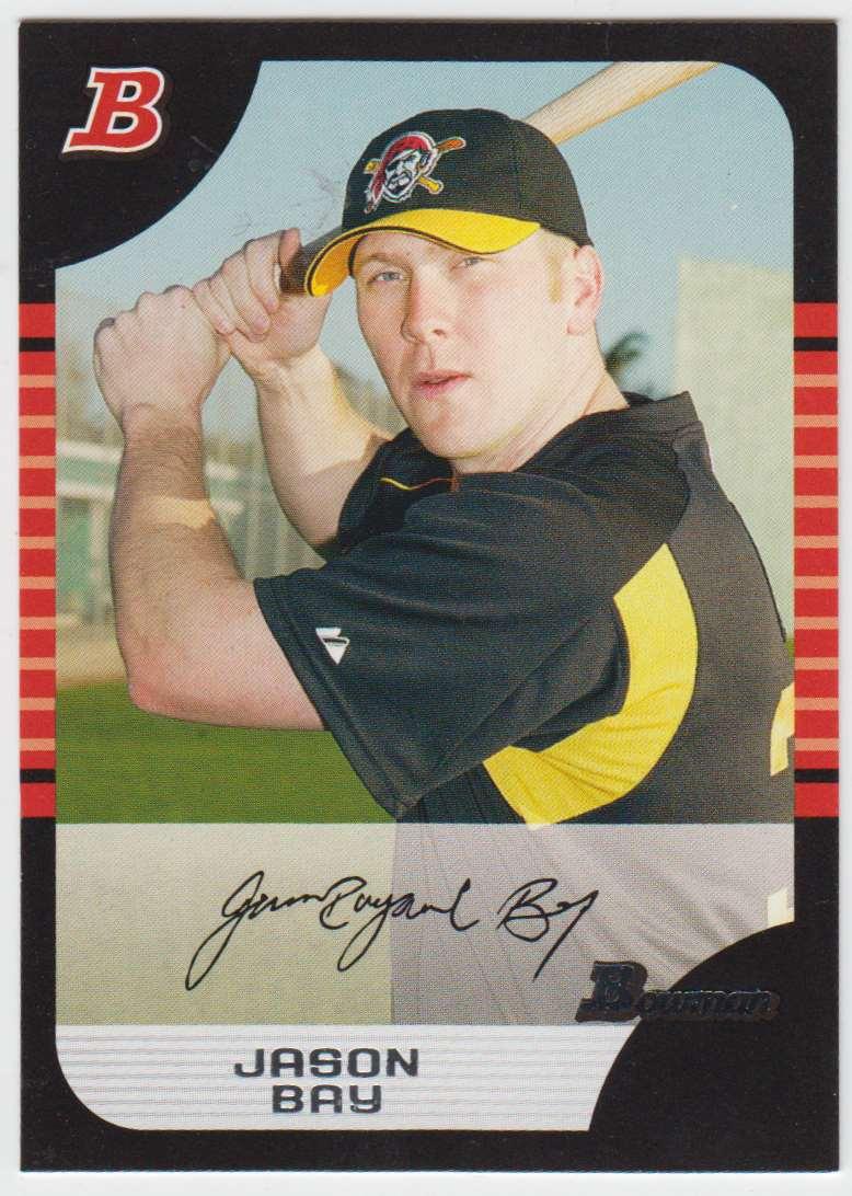 2005 Bowman Jason Bay #28 card front image
