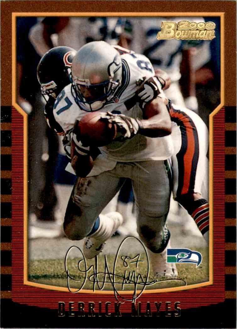 2000 Bowman Derrick Mayes #78 card front image