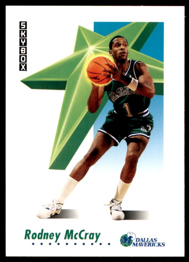 1991 92 Skybox Rodney Mccray 62 on Kronozio