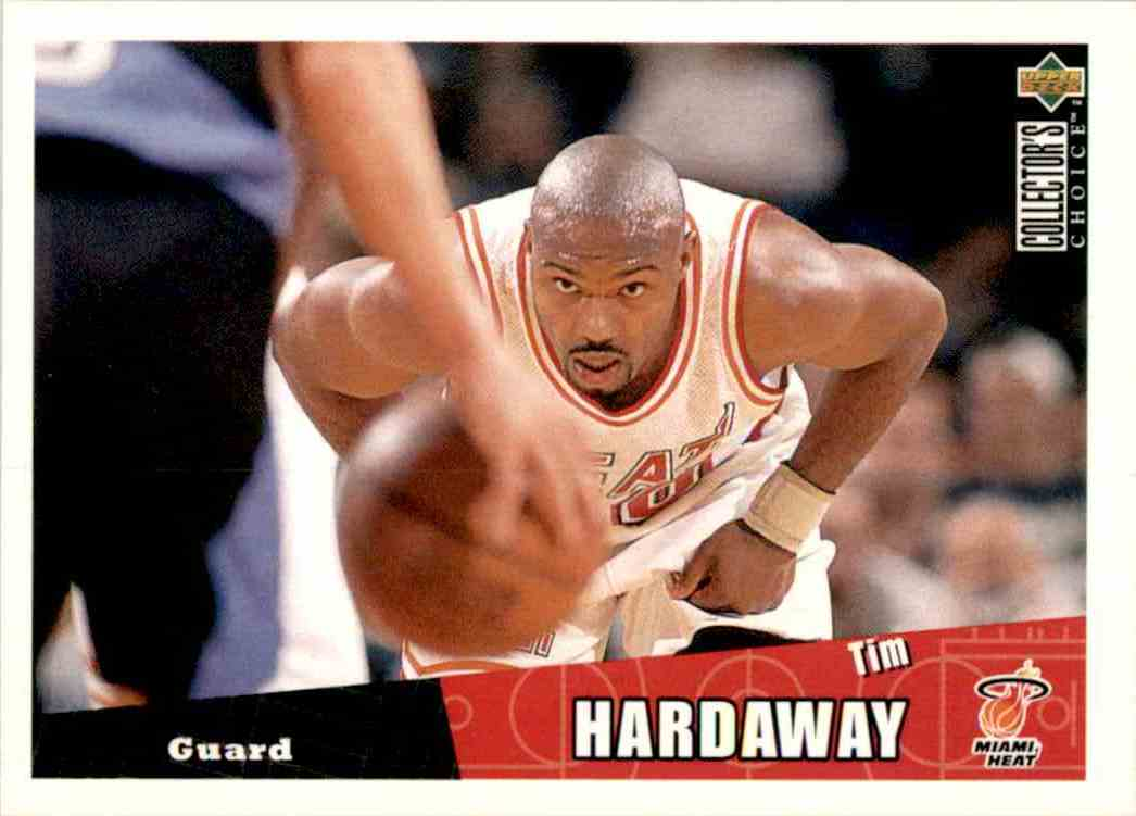 1996-97 Collector's Choice Tim Hardaway #273 card front image