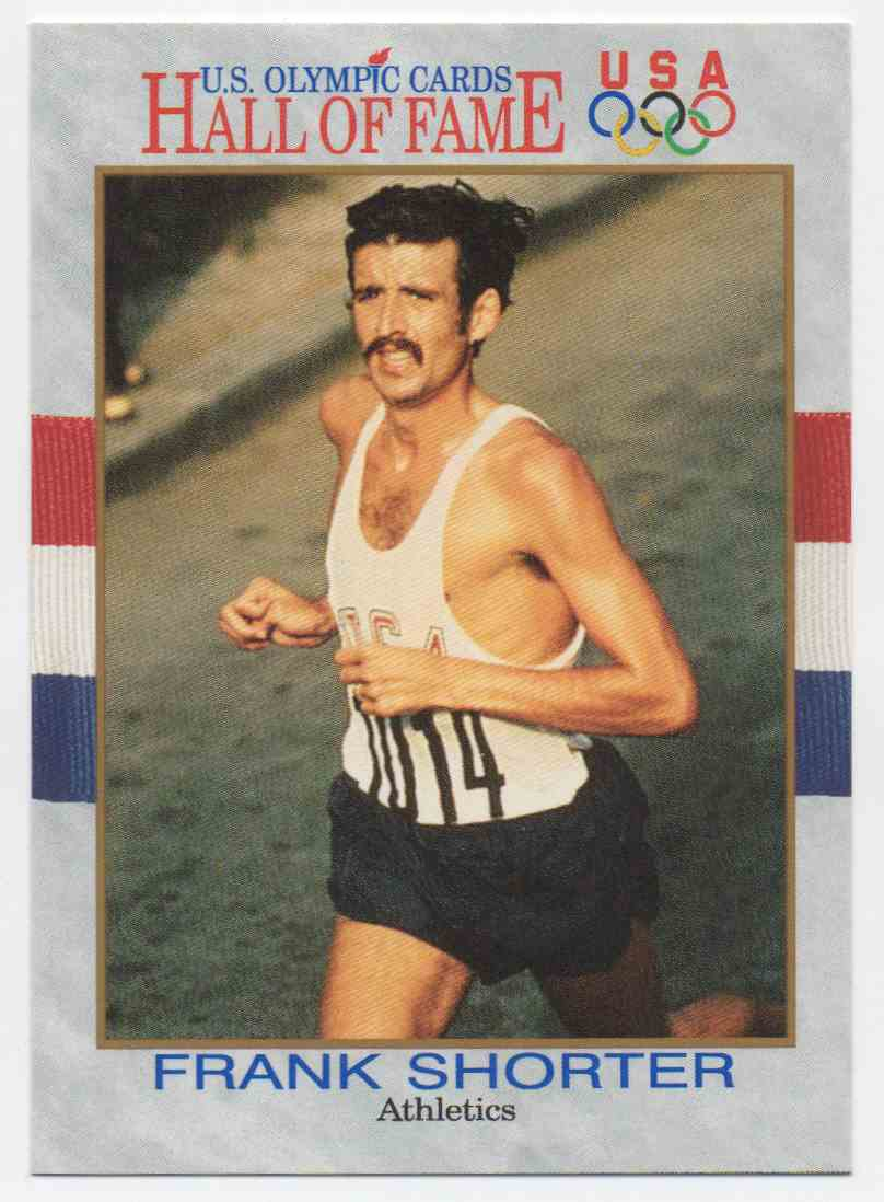 1991 Impel U.S. Olympic Hall Of Fame Frank Shorter #21 card front image