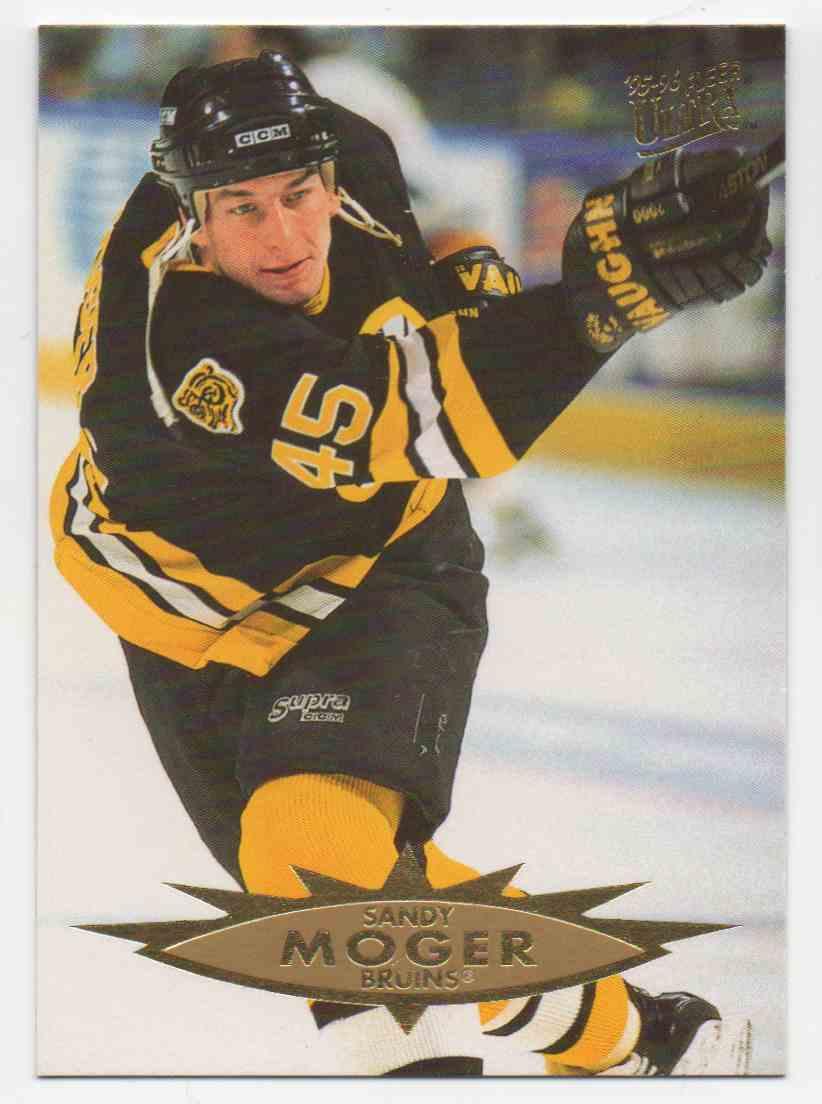 1995-96 Ultra Sandy Moger #11 card front image
