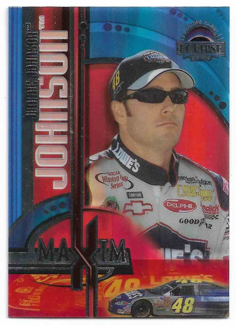 2004 Press Pass Eclipse Jimmie Johnson #MX2 card front image
