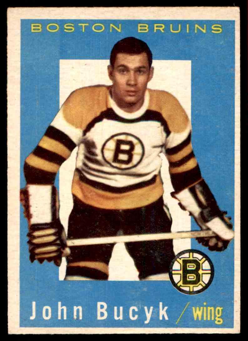 1959-60 Topps Topps John Bucyk (B) #23 card front image