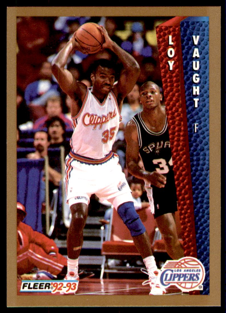 1992 93 Fleer Loy Vaught 105 on Kronozio