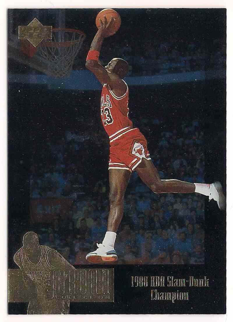 1995-96 Upper Deck Michael Jordan #JC6 card front image