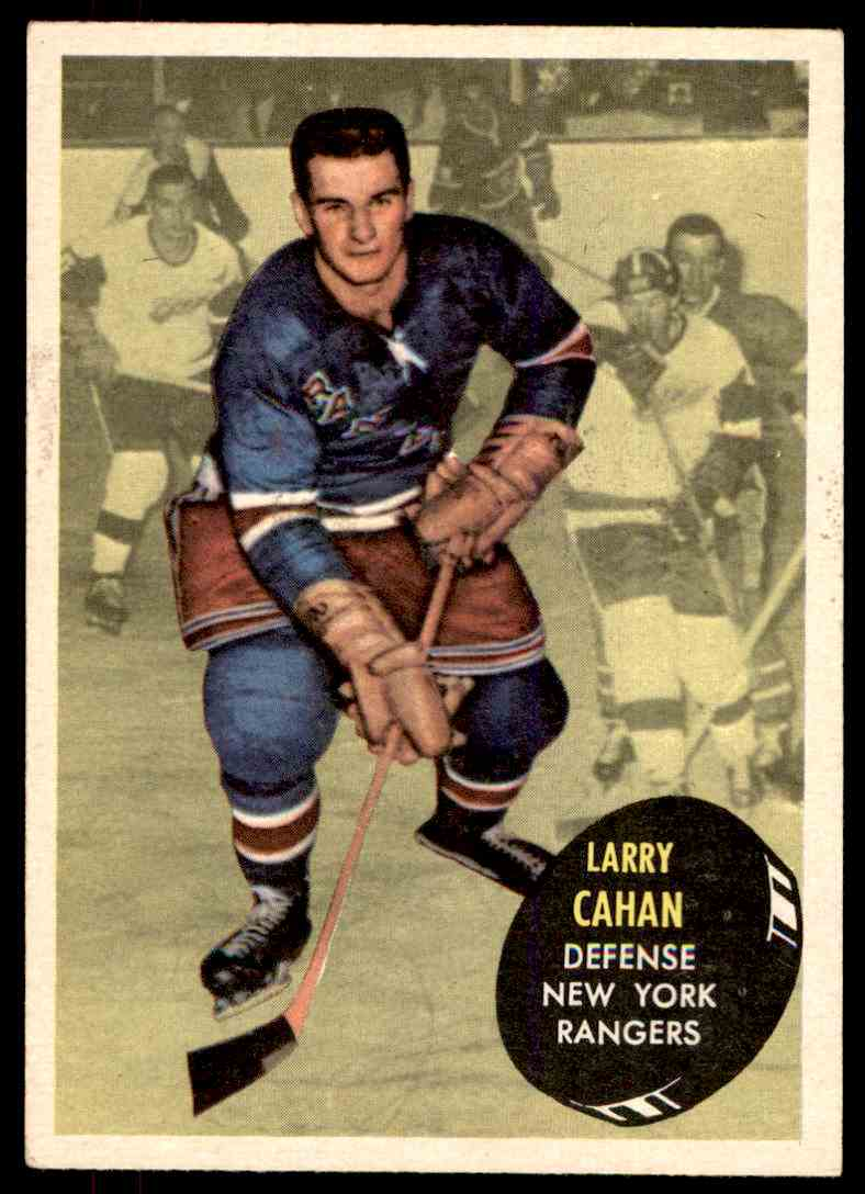 1961-62 Topps Larry Cahan #52 card front image