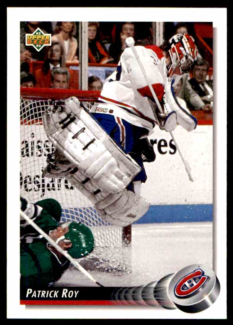 1992-93 Upper Deck Patrick Roy #149 card front image