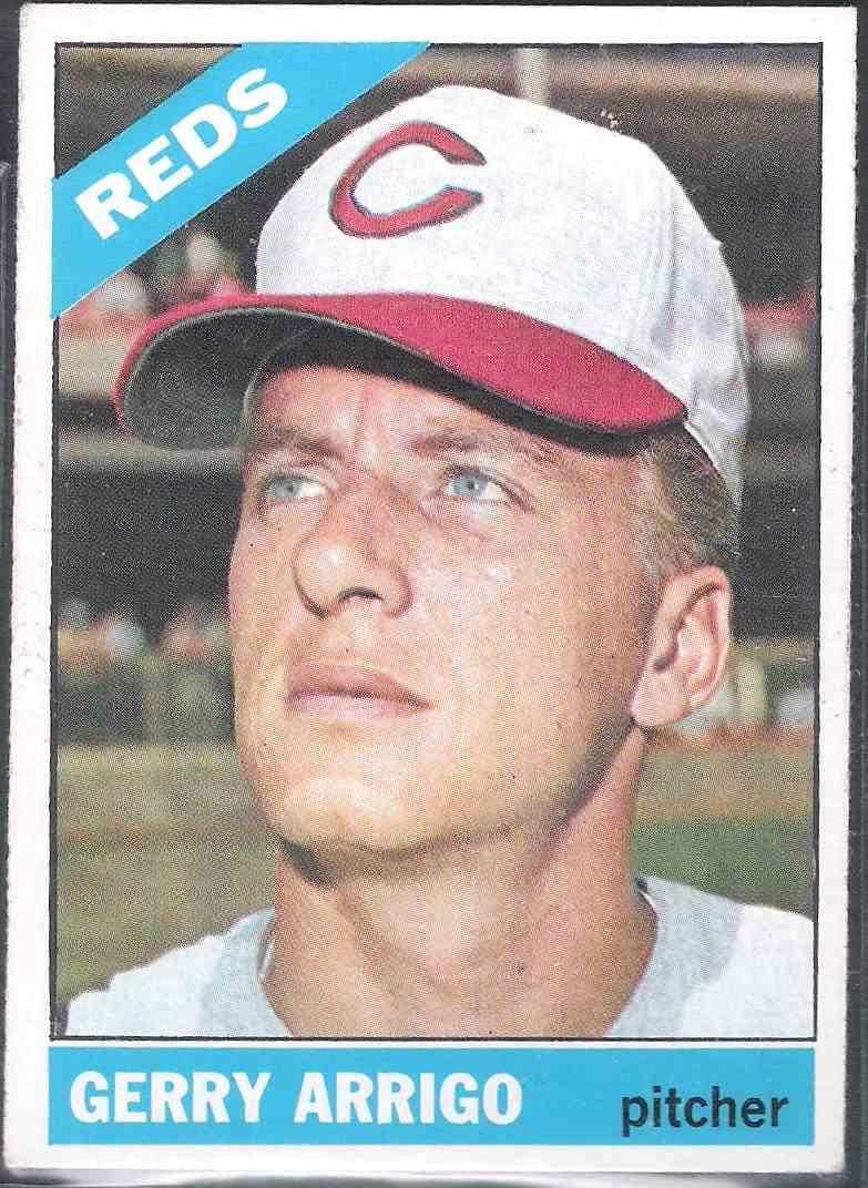 1966 Topps Gerry Arrigo #357 card front image