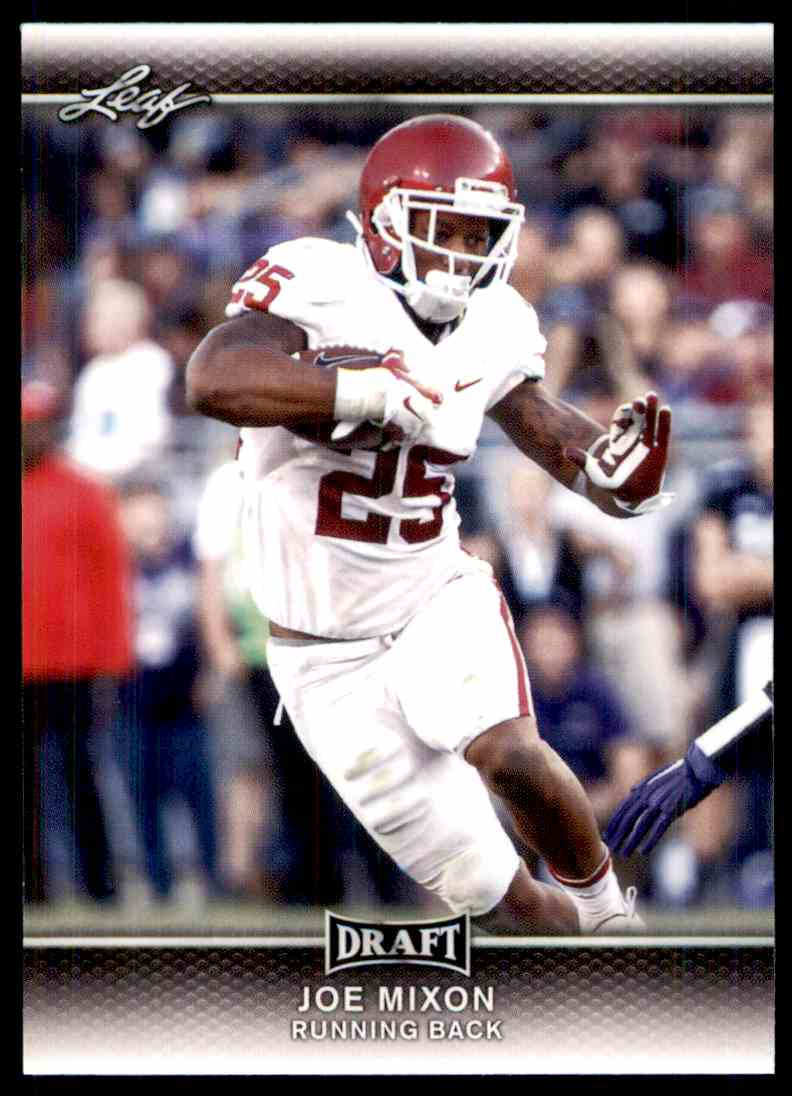 2017 Leaf Draft Joe Mixon #38 card front image