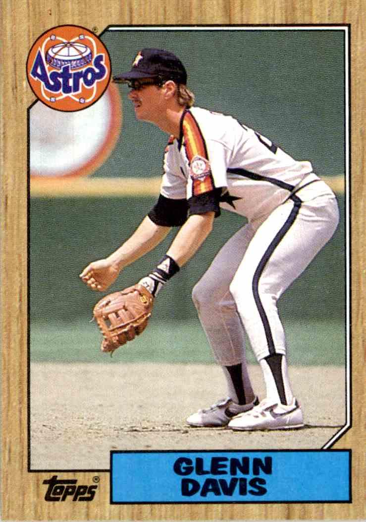 1987 Topps Glenn Davis 560 On Kronozio
