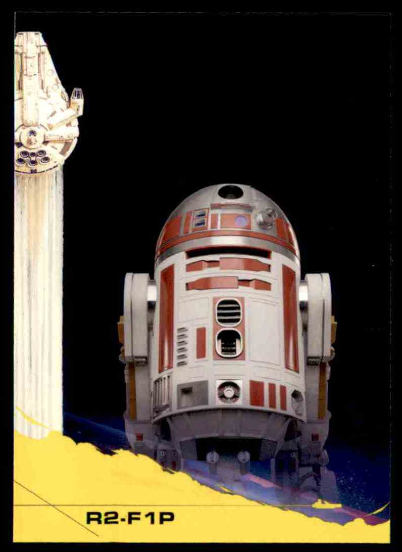 2018 Topps Solo: A Star Wars Story R2-F1p #14 card front image