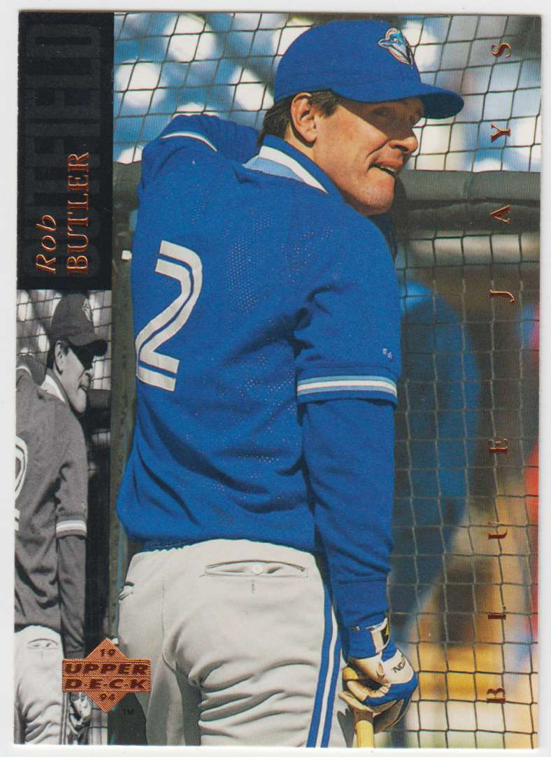 1994 Upper Deck Rob Butler #176 card front image