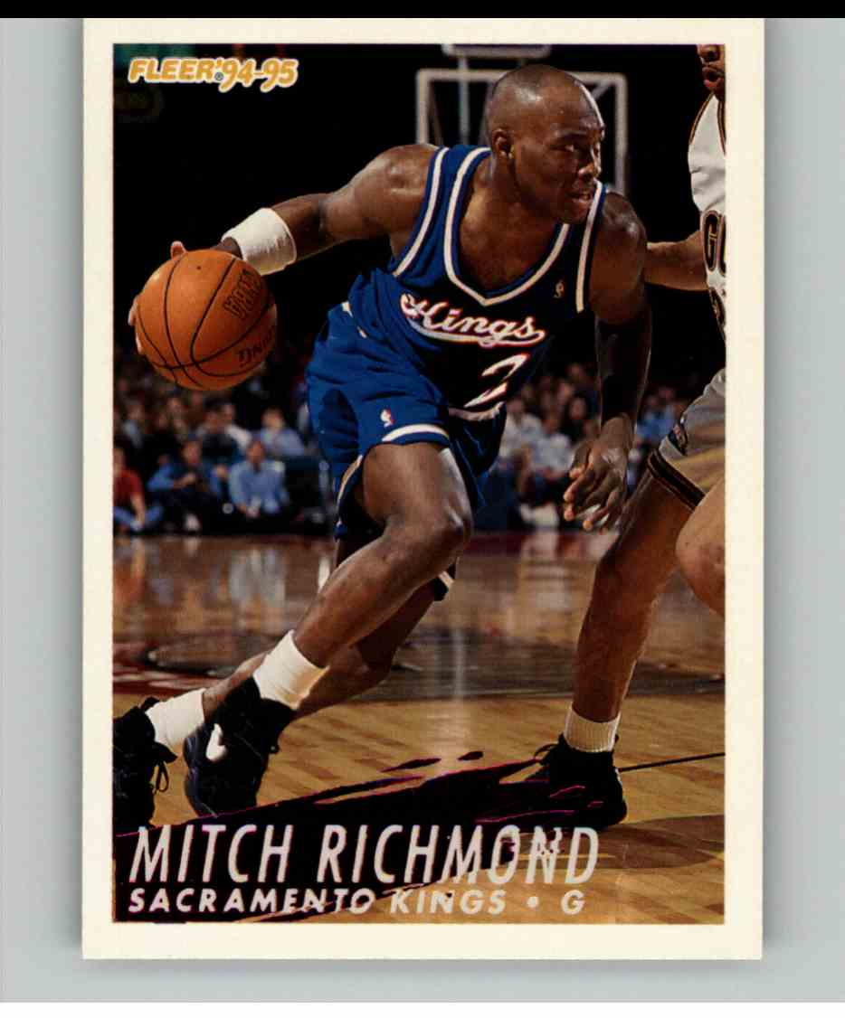 1994-95 Fleer Mitch Richmond #195 card front image