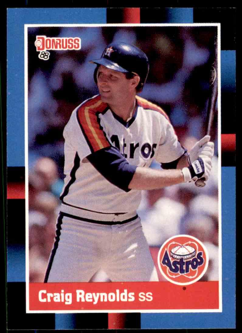 release date 008a5 94ff4 1988 Donruss Baseball Craig Reynolds #209 on Kronozio