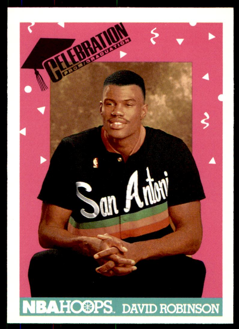 1991 92 Nba Hoops David Robinson 327 On Kronozio