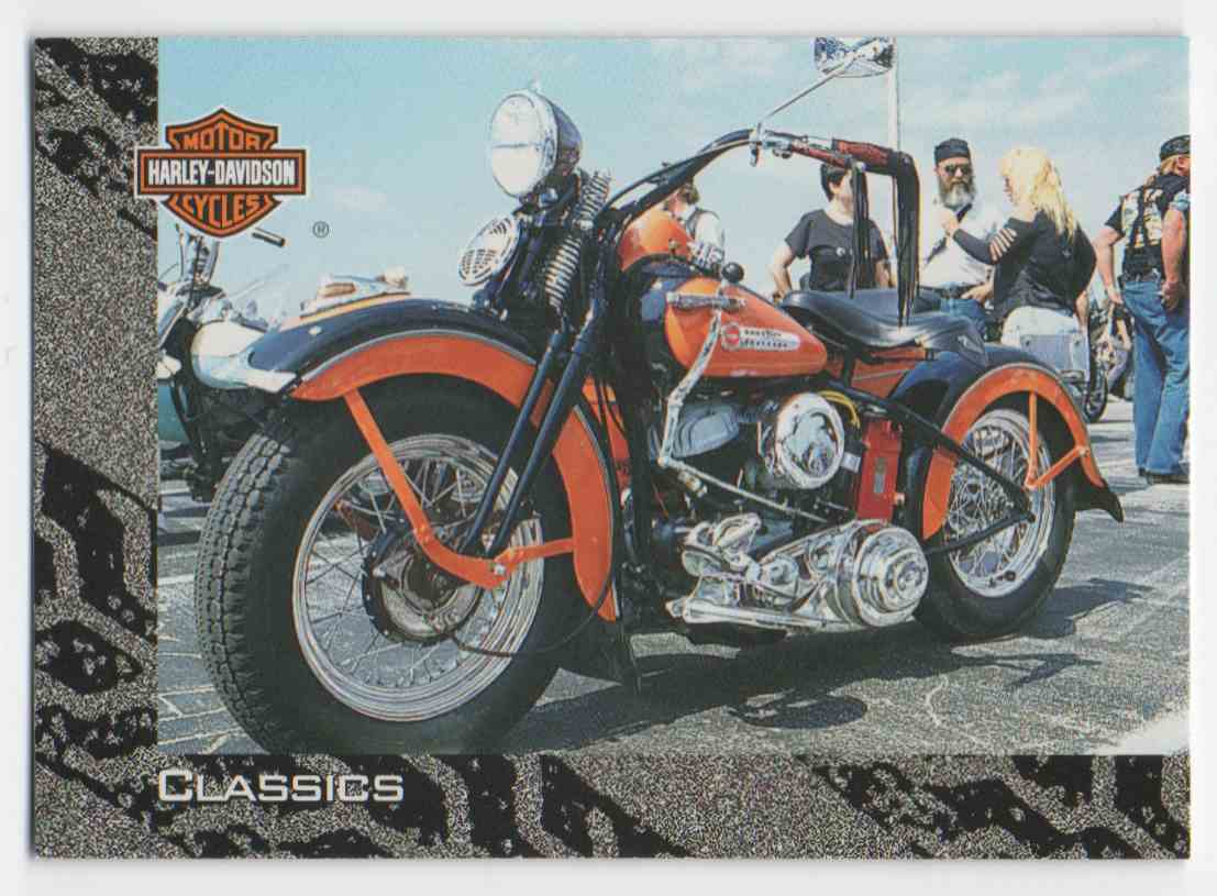 1994 Skybox Harley Davidson Ready To Roll #21 card front image