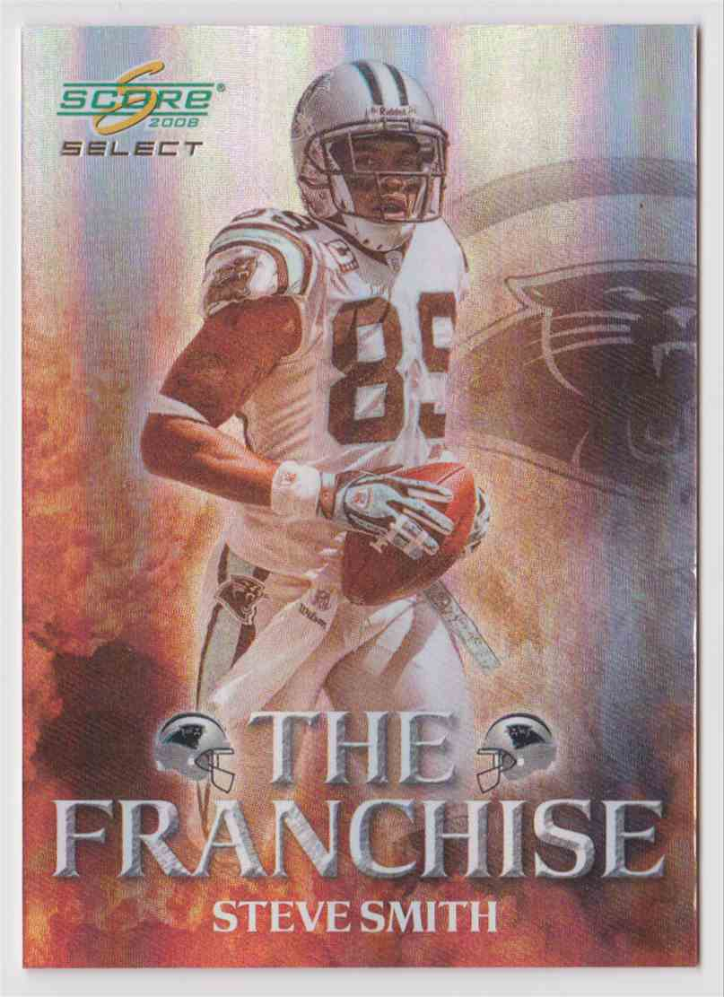 2008 Score Select The Franchise Steve Smith F 18 Card Front Image