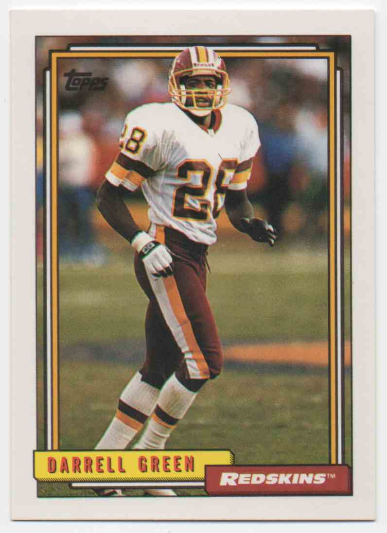 1992 Topps Darrell Green #570 card front image