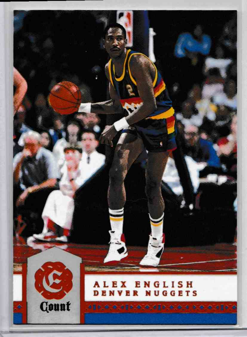2016 17 Panini Excalibur Count Alex English 181 on Kronozio