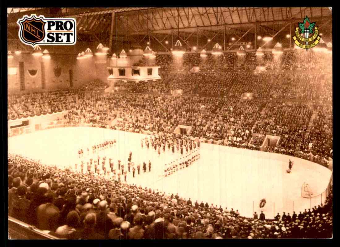 1991-92 Pro Set Inc. Pro Set Opening Night At Maple Leaf Gardens ...