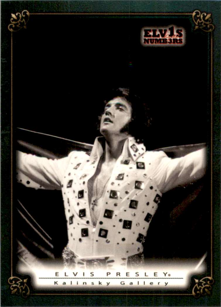 2008 Elvis By The Numbers Kalinsky Gallery #48 card front image