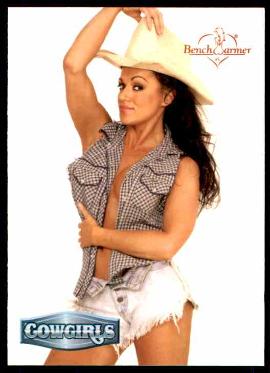 2002 Bench Warmer Dayna Leigh/Cowgirls #174 card front image