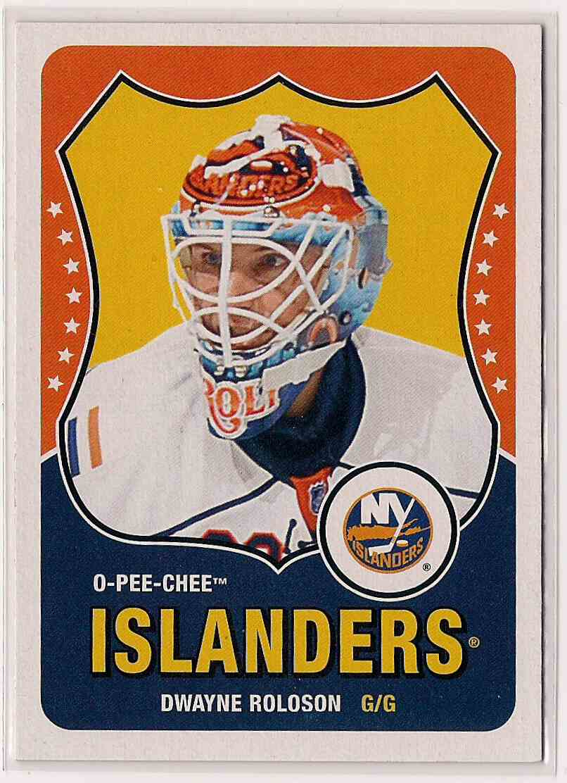 2010-11 O-Pee-Chee Retro Dwayne Roloson #415 card front image