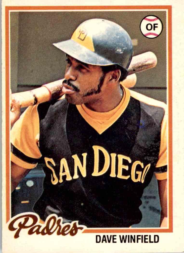 1978 Topps Dave Winfield 78 On Kronozio