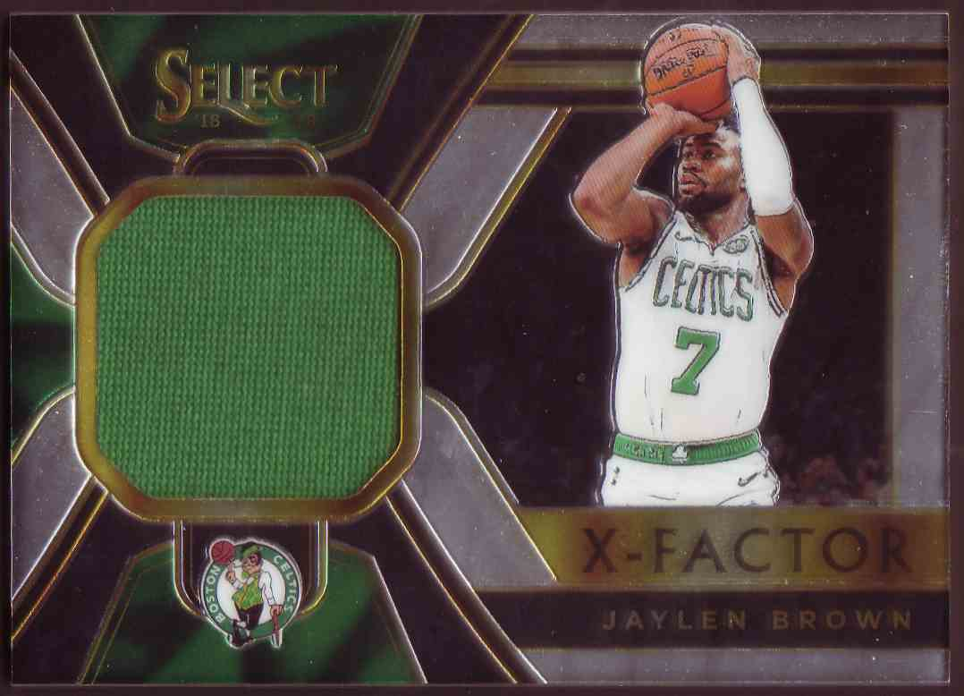 2018-19 Panini Select X-Factor Jatlen Brown #XF-JBR card front image