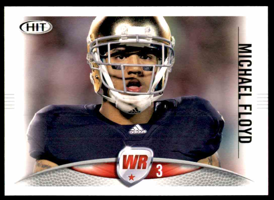 2012 Sage Hit Michael Floyd #3 card front image