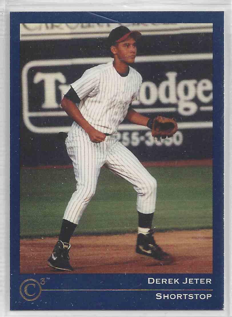 1992 Classic Collectors Club Derek Jeter #CC 3 card front image
