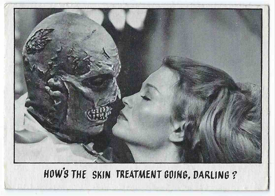 1973 Topps You'll Die Laughing How's The Skin Treatment Going, Darling? #56 card front image