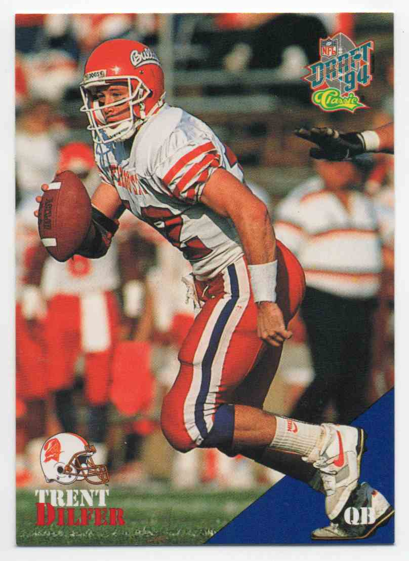 1994 Classic Draft Trent Dilfer #2 card front image