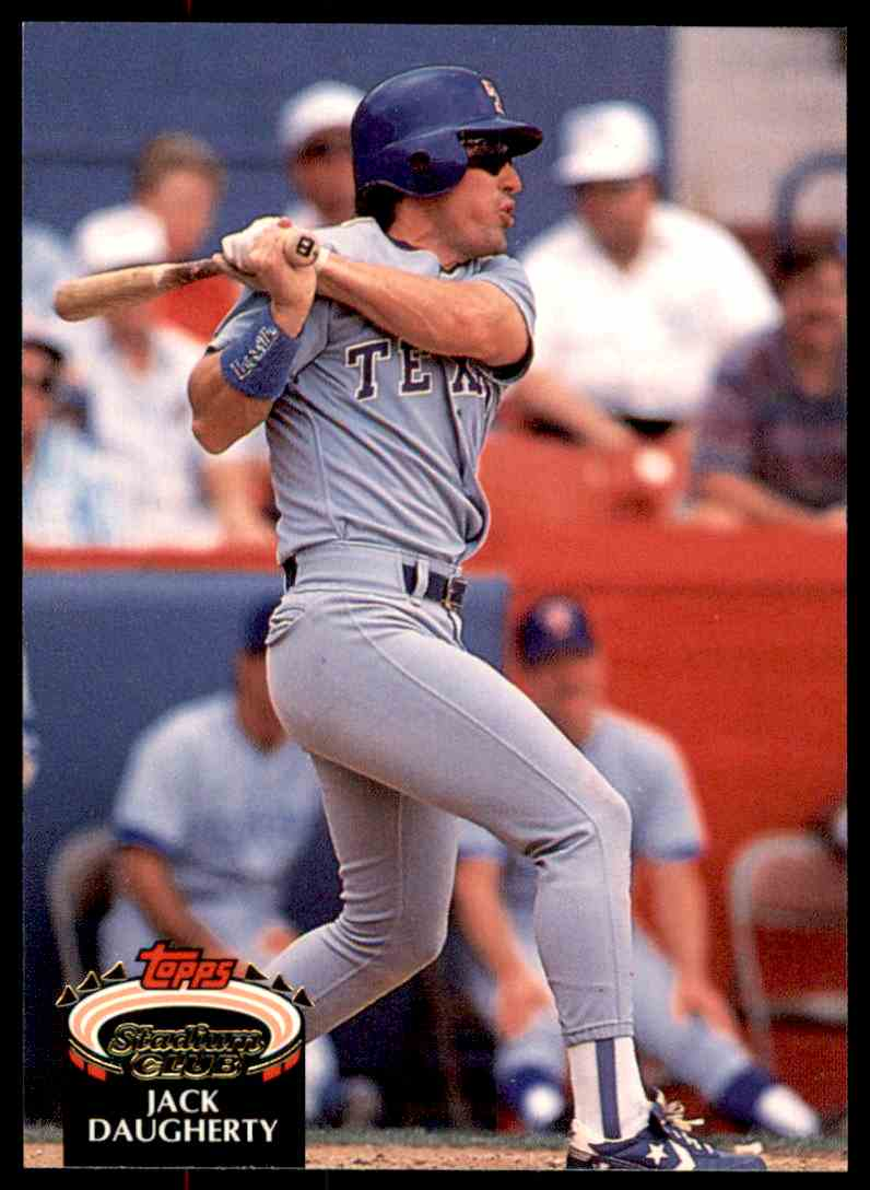 1992 Stadium Club Jack Daugherty #634 card front image