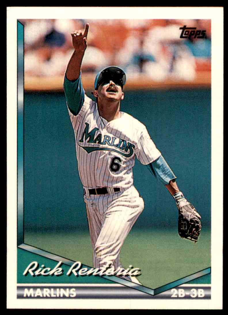 1994 Topps Rick Renteria #681 card front image