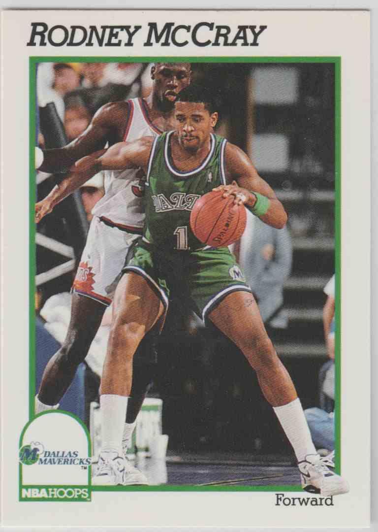 1991 92 NBA Hoops Rodney McCray 48 on Kronozio