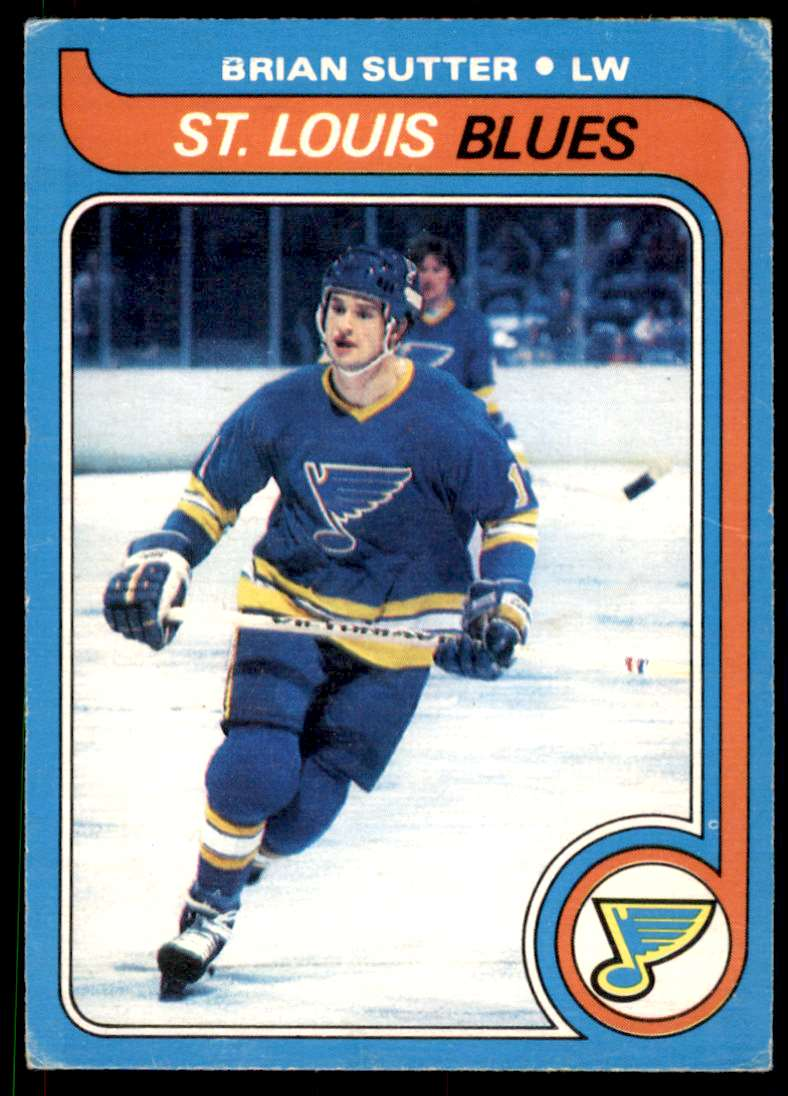 1979-80 O-Pee-Chee Brian Sutter #84 card front image