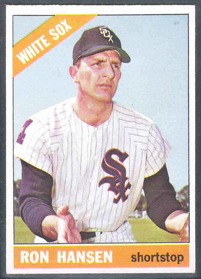 1966 Topps Ron Hansen Nm- #261 card front image